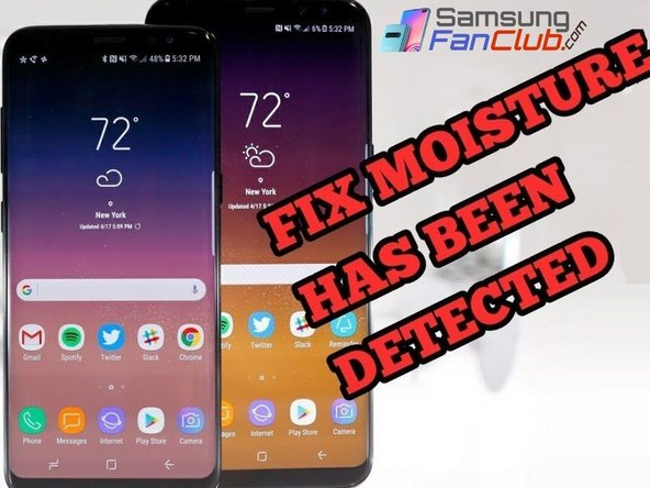 Once you have followed the above mentioned steps, now you can easily fix moisture detection error in Samsung Phones by using following 100% tested guide.