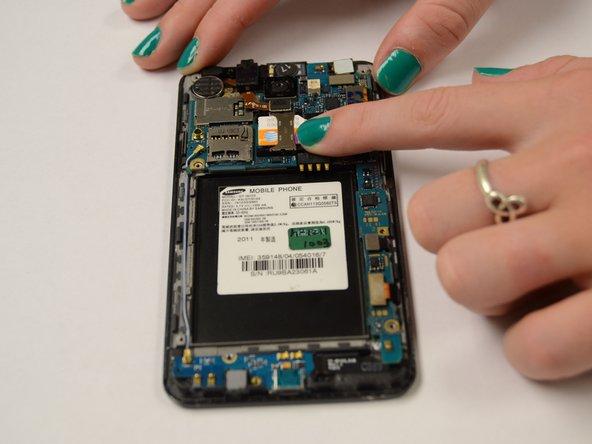 Samsung Galaxy R SIM Card Replacement