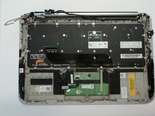 Replacement of the keyboard on a Dell XPS 12 9Q23
