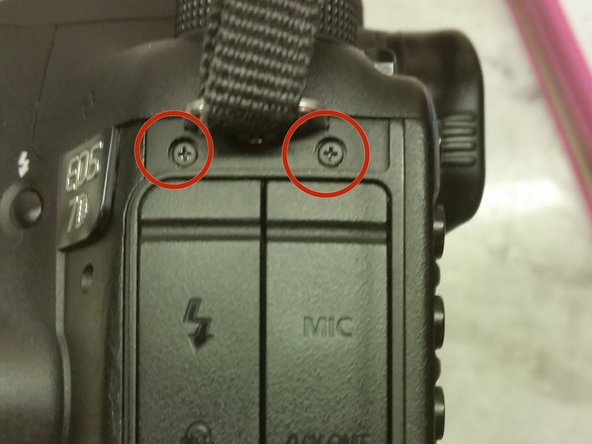 Canon EOS 7D Bent CF Pin Fix/Card Reader Replacement