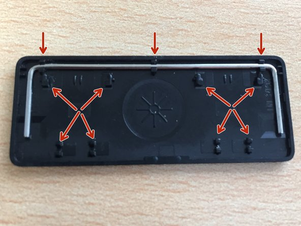 Check the 8 main points of the key on the inside of the key for damage.