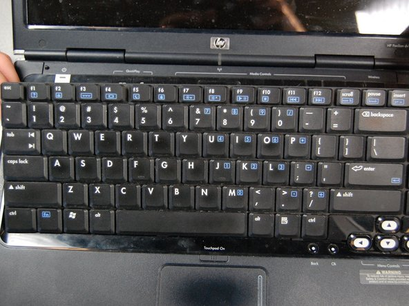 HP Pavilion dv1000 Keyboard Replacement