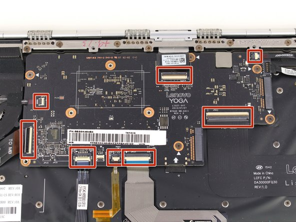 Lenovo Yoga 900-13ISK Motherboard Replacement
