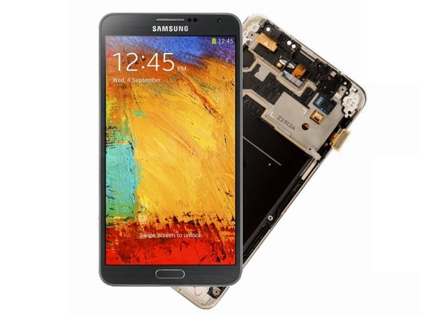 Samsung Galaxy Note 3 Display Assembly Video Tutorial Replacement