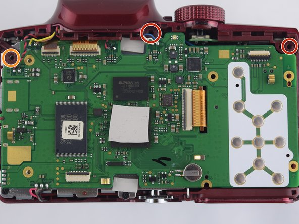 Samsung WB2100 Flash Assembly Replacement