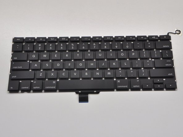 "MacBook Pro 13"" Unibody Mid 2010 Keyboard Replacement"