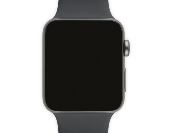 The Apple Watch is now powered off.