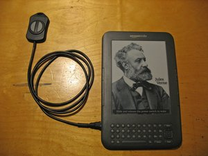 Adding a Remote Page Turning Switch to the Kindle 3