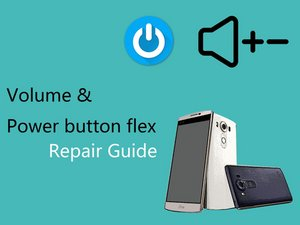 Volume & Power button flex cable (video)