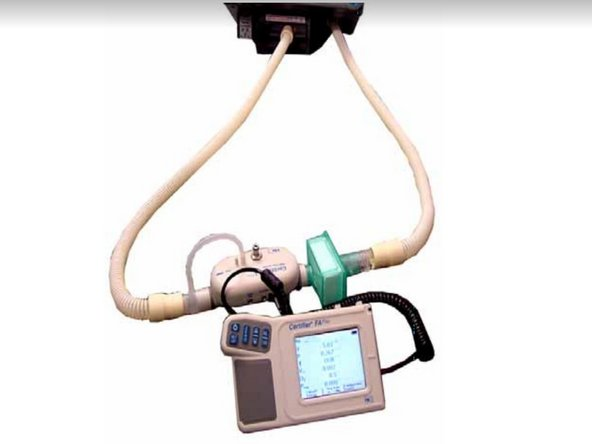 Philips Respironics V200 Esprit Oxygen Flow Sensor/Valve Replacement