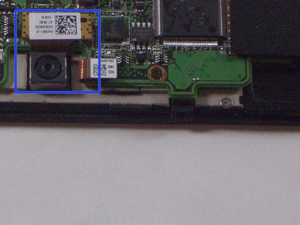 Asus TF300T Tablet Rear Camera Replacement