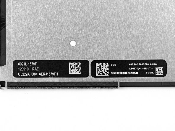 As opposed to the Samsung display we found in the iPad 3, the new iPad LCD is manufactured by LG.