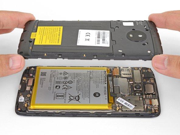 Motorola Moto E4 Plus Plastic Midframe Replacement