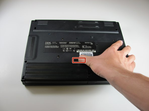 IBM ThinkPad 560z Battery Removal