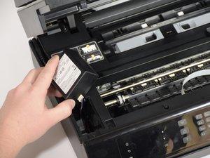Sostituzione dell'alimentatore per stampante HP Officejet 4630