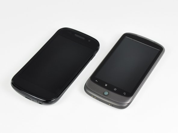 A side-by-side comparison of the Samsung-made Nexus S and its HTC-manufactured older sibling, the Nexus One.