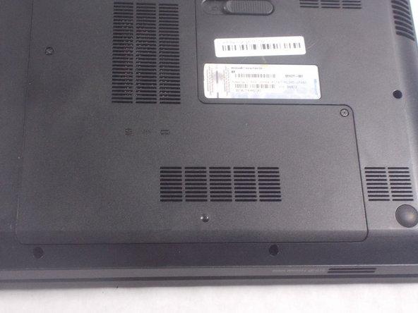 HP Pavilion g4-1117dx L-Shaped Back Panel Replacement