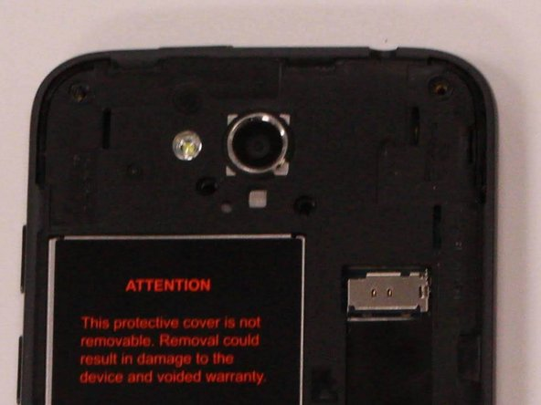 ZTE Maven Front Camera Replacement