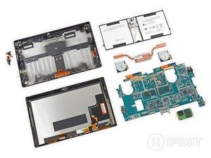 Microsoft Surface Pro 2 Teardown