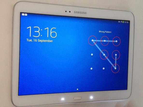 Samsung Galaxy Tab 3 10.1 - Factory Reset Password Removal