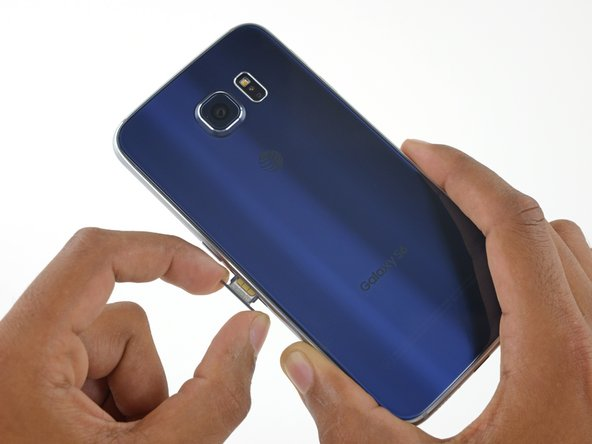 Samsung Galaxy S6 SIM Card Replacement