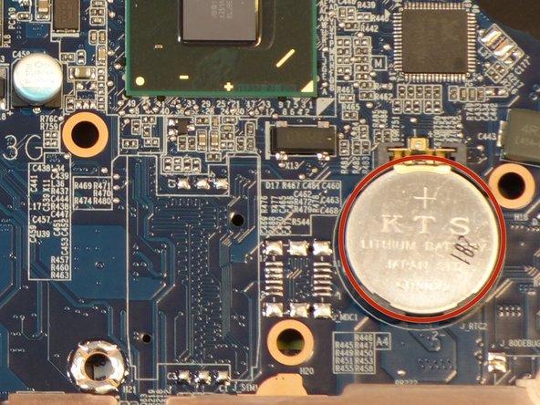 Remplacement Pile mémoire (BIOS) why! W253EU