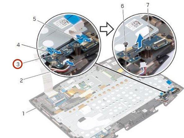 Dell Alienware 14 Status-Light Board Replacement