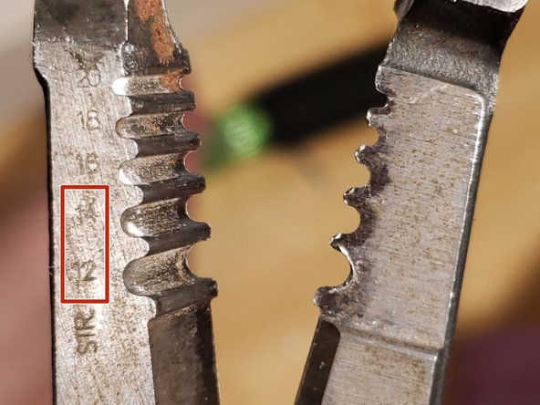 If your wires already have hooks on the ends, you may skip to step 10.