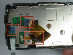 Remplacement de l'écran LCD du Olympus Stylus 1010