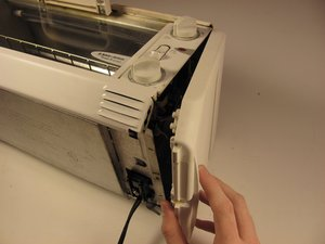 How to clean out a Black and Decker Toast R Oven