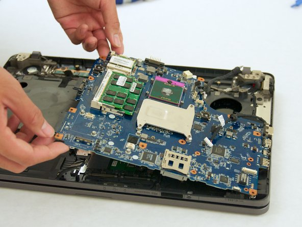 Sony Vaio PCG-7184L (VGN-NW240F) Motherboard Replacement