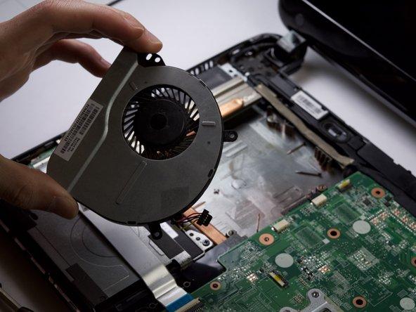 HP Pavilion 14-c015dx Chromebook Fan Replacement