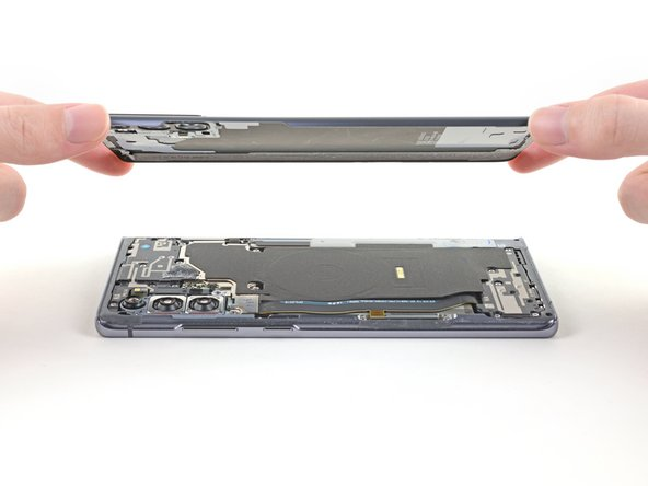 Samsung Galaxy Note20 Rear Cover Replacement