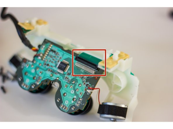 Check the connection of the flexible trigger board to the main circuit board of your controller.
