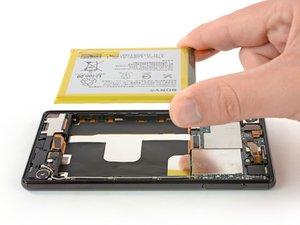 Sony Xperia Z4 バッテリーの交換