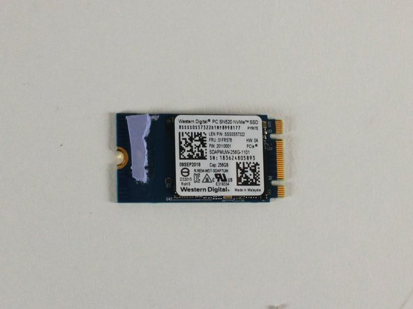 Lenovo Legion Y530-15ICH Solid State Drive Replacement