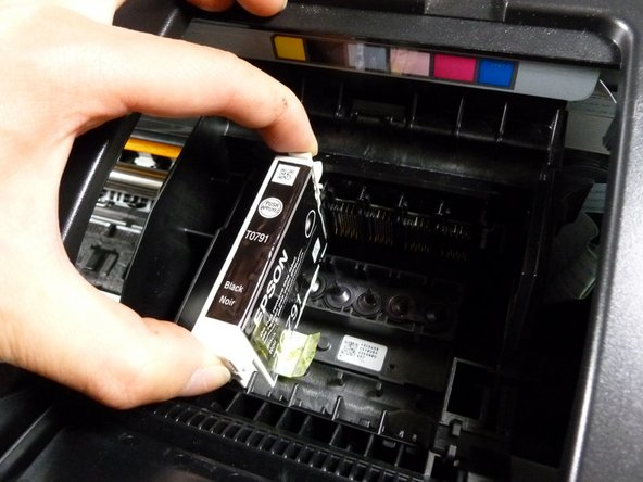 Epson Stylus Photo 1400 Ink cartridge replacement