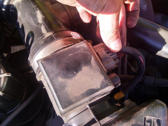 1996-1998 Subaru Legacy Engine Air Filter Replacement