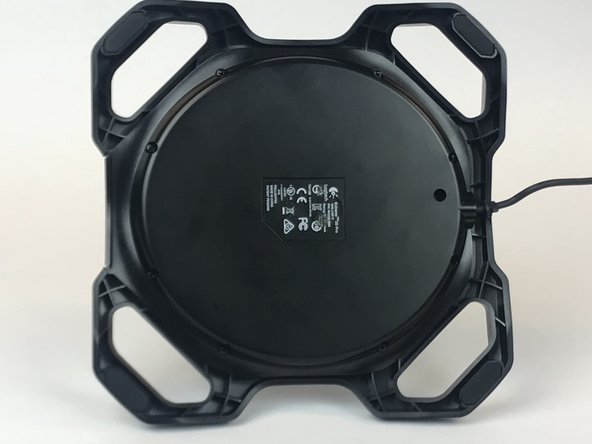 Logitech Extreme 3D Pro Disassembly of the base