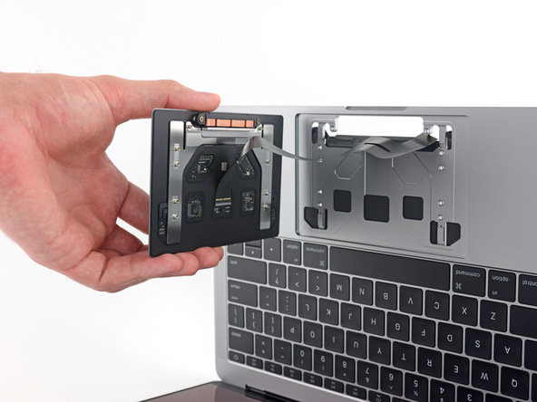 Remove the trackpad assembly.