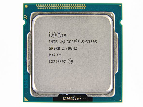 The Intel Core i5-3330S is clocked at 2.7 GHz, but can stretch its legs up to 3.2 GHz if needed.