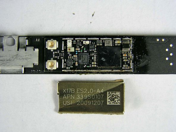Wi-fi and Bluetooth are integrated into a single board. Broadcom has been one of Apple's favorite suppliers recently. It's possible this is the same BCM4329 chip that Apple used in the 3rd Gen Touch.