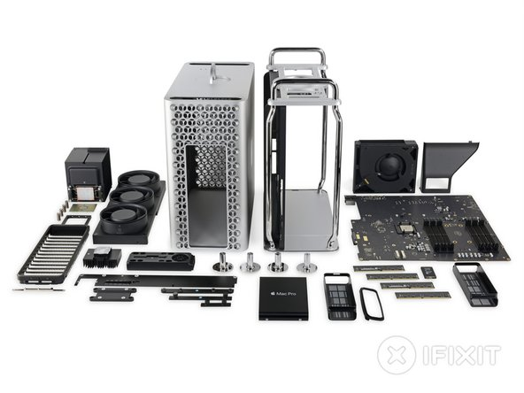 The new Mac Pro is a Fixmas miracle: beautiful, amazingly well put together, and a masterclass in repairability.