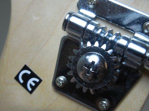 Use a phone tuner or regular guitar tuner.
