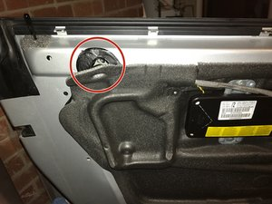 How to fix a rattling window, E46 M3