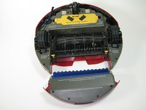 How to clean your Roomba 4100's air filter.