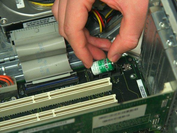 Power Mac G4 M5183 Internal Battery Replacement