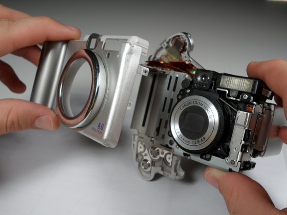 Canon PowerShot A80 Front Cover Replacement