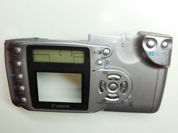 Canon EOS Digital Rebel (300D) Back Casing Replacement