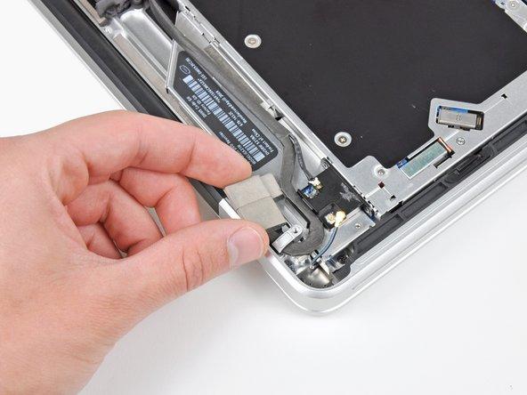 If present, remove the small piece of EMI foam near the Bluetooth board.